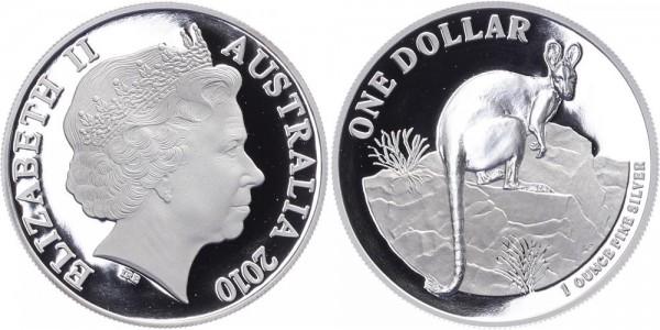 Australien 1 Dollar 2010 - Kangaroo