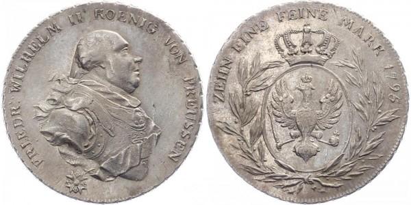 Preussen 1 Taler 1795 A Friedr. Wilhelm II.