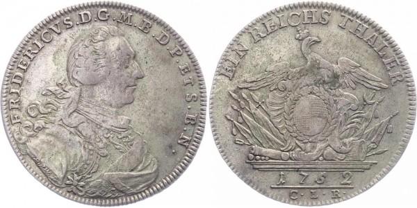 Brandenburg-Bayreuth 1 Taler 1752 - Friedrich