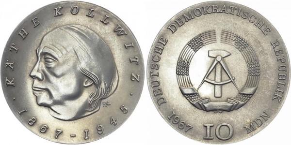 DDR 10 Mark 1967 A Kollwitz