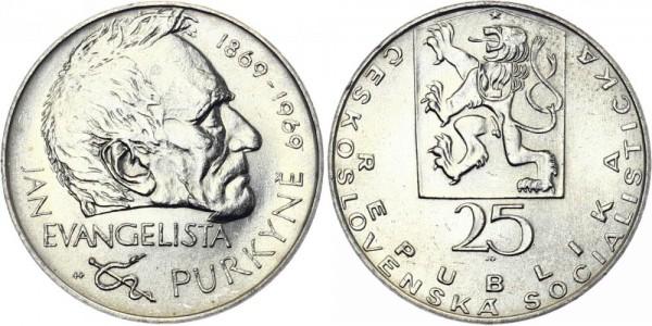 CSSR 25 Kč 1969 - J. E. Purkyne