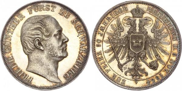 Schwarzburg-Rudolstadt Taler 1864 - Friedrich Günther