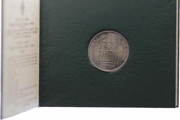 San Marino 1000 Lire 1977 - Brunelleschi
