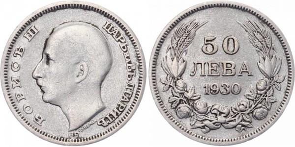 Bulgarien 50 Lewa 1930 - Boris III.