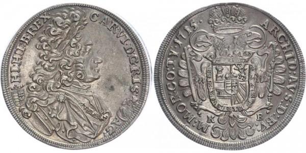 Kremnitz 1/2 Taler 1715 - Karl VI.