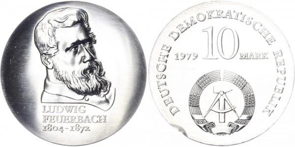 DDR 10 Mark 1979 - Feuerbach