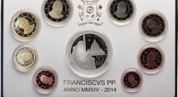 Vatikan 23,88 2014 - Papst Franciscus