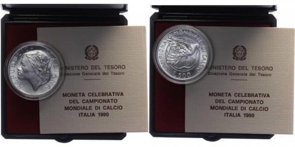 Italien 500 Lire 1990 - Weltmeisterschaft