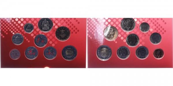 Kanada 3,91 Dollars 2010 - KMS, Olympische Winterspielen