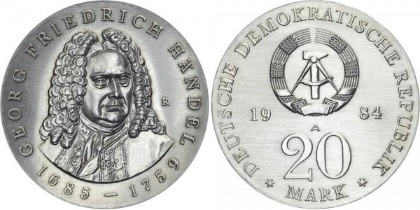 DDR 20 Mark 1984 A Händel