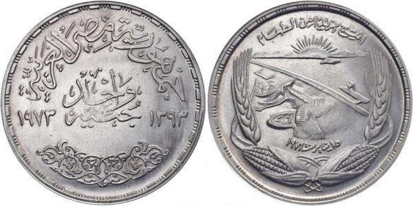 Ägypten 1 Pfund 1973/1393 - FAO