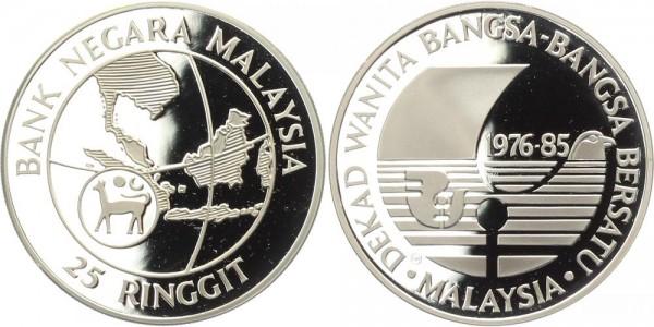 Malaysia 25 Ringgit 1985 - Jahrzehnt der Frau