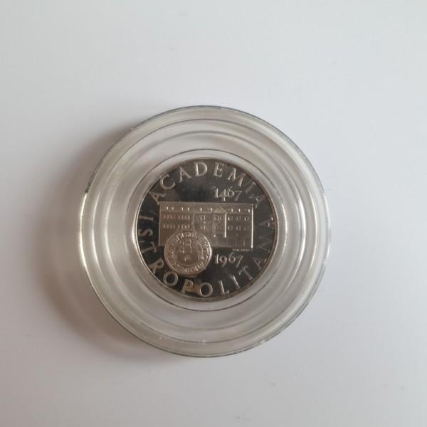 CSSR 10 Kronen 1967 500. Jahrestag Bratislava Universität (Academia Istropolitana) PP