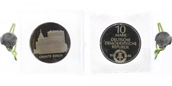 DDR 10 Mark 1986 - Charité Berlin