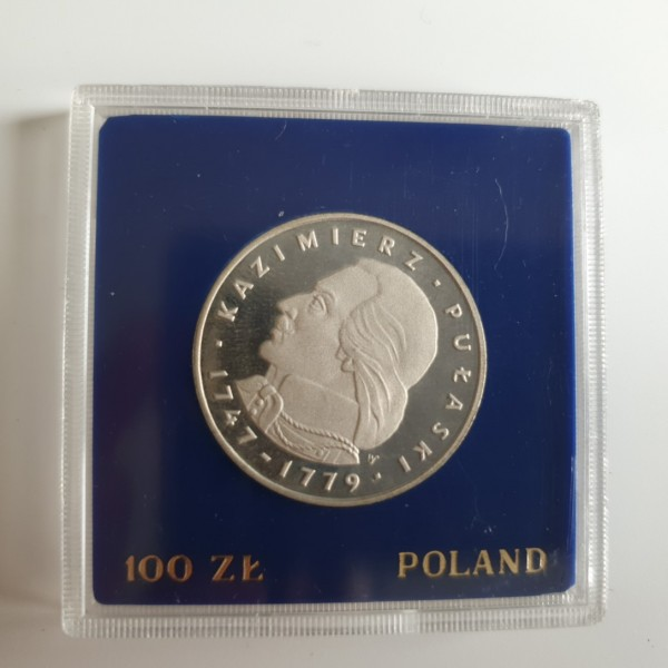 Polen 100 Zloty 1976 Kazimierz Pulaski PP