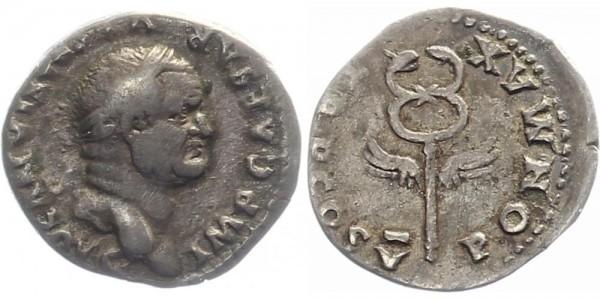 Römisches Reich 1 Denar 69-79 - Vespasianus