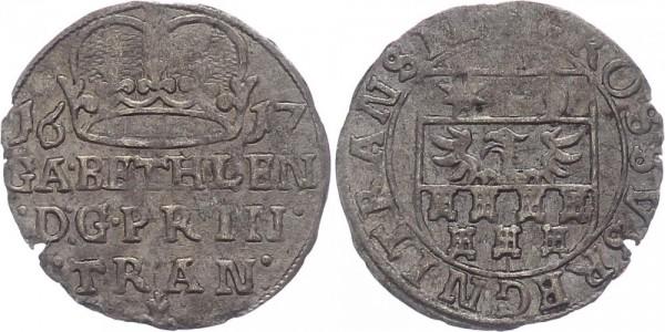 Ungarn-Siebenbürgen/Transsylvanien Groschen 1617 Klausenburg Gabriel Bethlen 1613-1629
