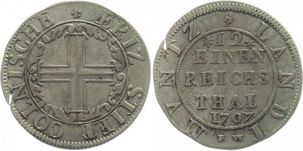 Köln 1/12 Taler 1707 - Erzbistum Domkapitel