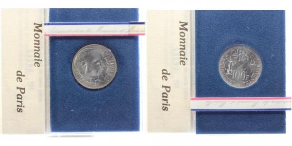 Frankreich 100 Francs 1985 - Germinal