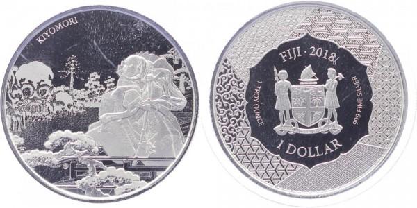 Fiji 1 Dollar 2018 - Kiyomori