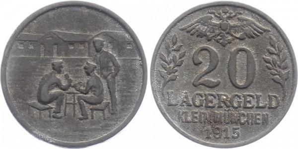 Klein München 20 Pfennig 1915 - Lagergeld