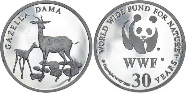 WWF Medaille 1986 - Damagazelle