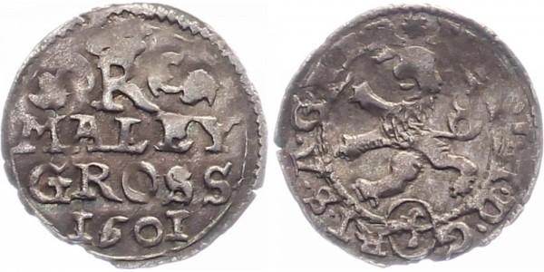 Böhmen Maley Groschen 1601 - Rudolf II Kuttenberg