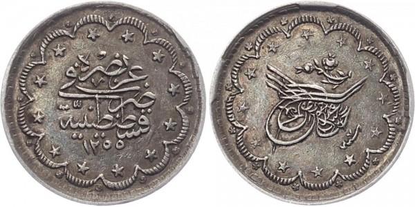 Türkei 5 Kurush AH 1255 - Abdul Mejid