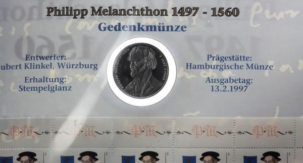 BRD 10 Mark 1997 - Philipp Melanchthon