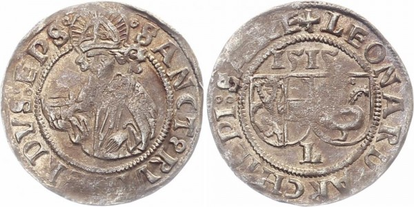 Salzburg Batzen 1515 - Leonhard v. Keutschach, 1495-1516
