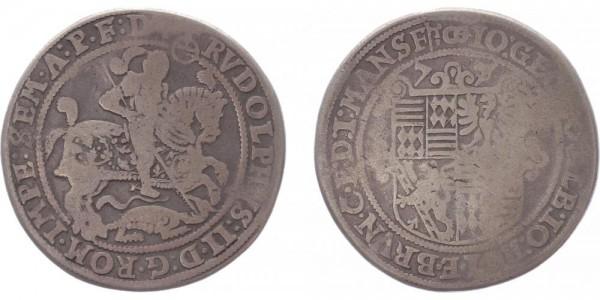 Mansfeld-Eisleben Taler 1577 - Johann Georg I., Johann Albrecht, Johann Hoyer III., Bruno II