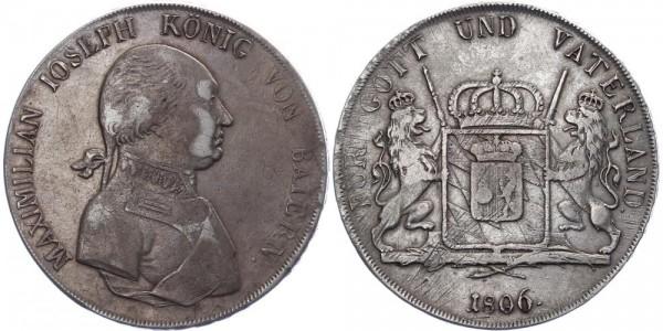 Bayern Konventionstaler 1806 - Maximilian Joseph