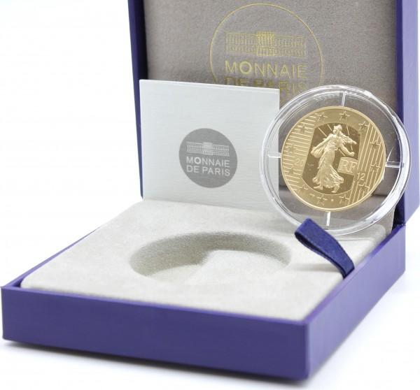 Frankreich 100 Euro 2012 10 Jahre Euro Jubiläum