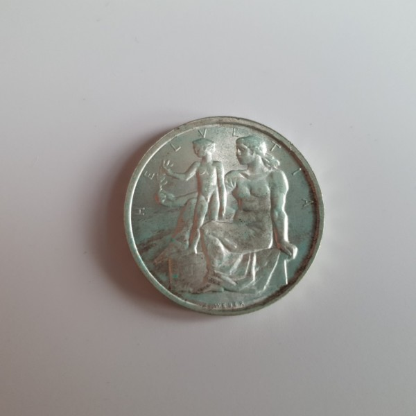 Schweiz 5 Franken 1948 B 100 Jahre Bundesverfassung