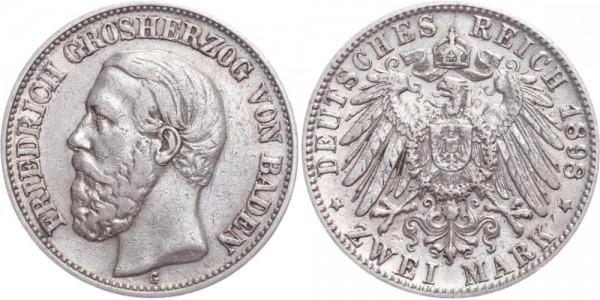Baden 2 Mark 1898 - Friedrich