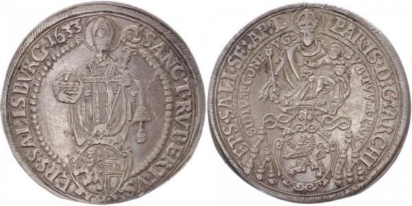 Salzburg Taler 1633 - Graf von Lodron