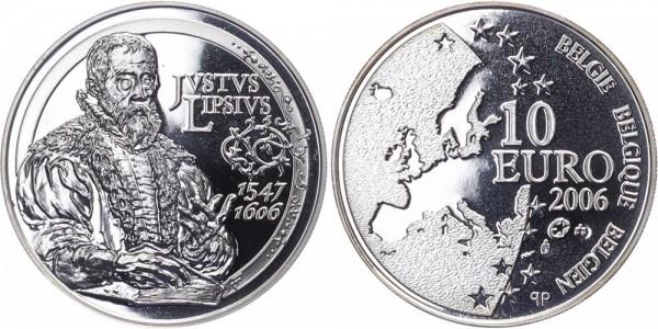 Belgien 10 Euro 2006 - 400. Todestag Justus Lisius