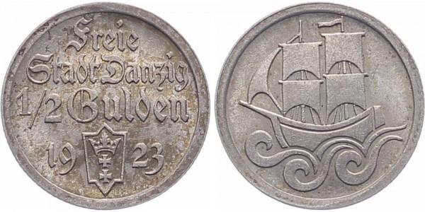 Danzig 1/2 Gulden 1923